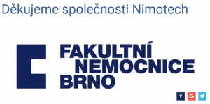 Poděkování FN Brno