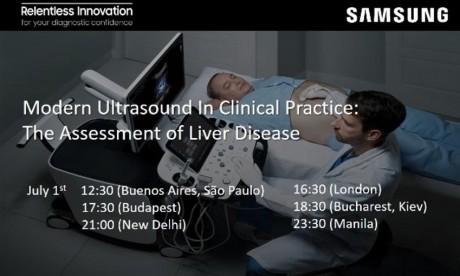 Webinář: Modern Ultrasound In Clinical Practice:<br>The Assessment of Liver Disease