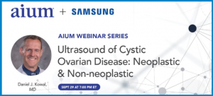 Webinář: Ultrasound of Cystic Ovarian Disease: Neoplastic & Non-neoplastic
